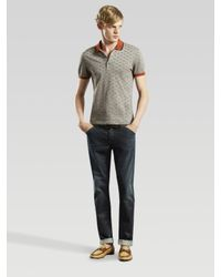 Gucci | Brown Gg Polo for Men | Lyst