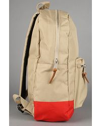 Herschel Supply Co. - Natural Settlement Two Tone Backpack in Khaki/red for Men - Lyst