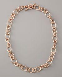 Ippolita - Pink Rose Gold Starter Chain - Lyst