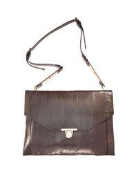 Lanvin - Brown Miss Sartorial Medium Envelope Bag - Lyst