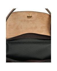 Longchamp - Brown Chocolate Nylon Le Pliage Small Folding Tote - Lyst