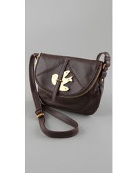 Marc By Marc Jacobs - Brown Petal To The Metal Flap Pouchette - Lyst