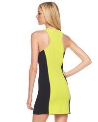 Michael Kors | Yellow Wetsuit Dress | Lyst