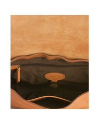 Mulberry - Deer Brown Leather Postmans Lock Shoulder Bag - Lyst