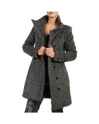 Patrizia Pepe | Gray Coat | Lyst