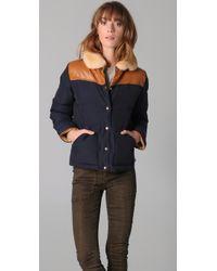 Penfield | Blue Rockwool Puffer Jacket | Lyst