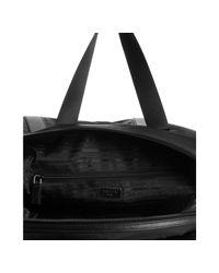 Prada - Black Signature Nylon Weekend Bag for Men - Lyst