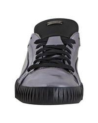 Alexander McQueen X Puma | Gray Amq Collection Metallic Black Street Climb Lo Sneakers for Men | Lyst