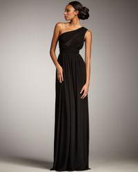 Robert Rodriguez   Black Lisa One-shoulder Gown   Lyst