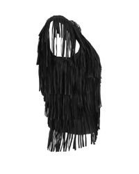 AllSaints Black Marail Top
