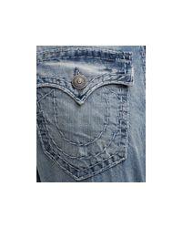 Ash - Blue True Religion Billy Bootcut Super T Jean in Medium Drifter Wash for Men - Lyst