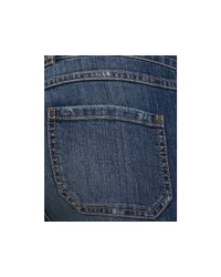 Ash | Free People High Waisted Patch Pocket Flare Leg Jeans in Watch Tower Blue Wash | Lyst