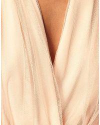 ASOS Collection | Metallic Asos Party Dress in Mesh | Lyst
