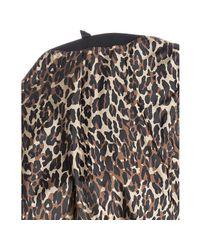 Betsey Johnson | Black Wool Blend Tie Waist Cape Coat | Lyst