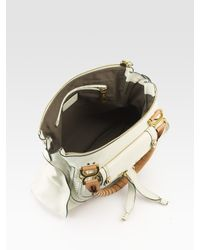 Chloé - White Marcie Animation Shoulder Bag - Lyst