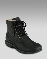 Cole Haan | Air Rhone Winter Boot, Black for Men | Lyst