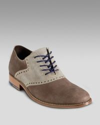 Cole Haan | Air Colton Saddle Shoe, Brown/gray for Men | Lyst