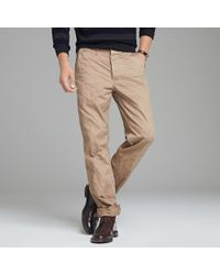 J.Crew | Natural Officers Chino for Men | Lyst