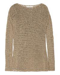 Kelly Bergin | Metallic Open-knit Sweater | Lyst