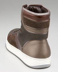 Lanvin | Natural Haute Puzzle Sneaker for Men | Lyst