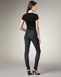Marc By Marc Jacobs - Blue Seamed Skinny Jeans - Lyst