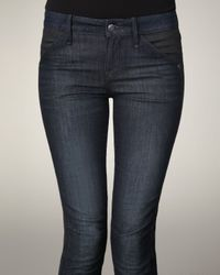 Marc By Marc Jacobs | Blue Seamed Skinny Jeans | Lyst