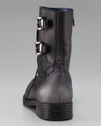 Mark Nason - Black Revellers Buckled Boot for Men - Lyst