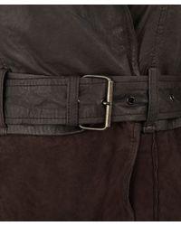 Muubaa - Brown Chocolate Wilde Trench Coat - Lyst