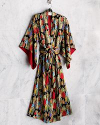 Natori - Black Dynasty Robe - Lyst