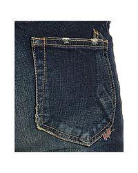 PRPS - Blue Dark Wash Dart Skinny Jeans - Lyst
