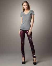 Rag & Bone | Multicolor Galaxy-print Leggings | Lyst
