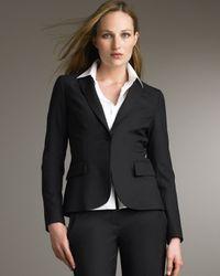 Theory | Gabe Black Long-sleeve Jacket | Lyst