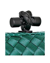 Bottega Veneta   Green Lagoon Intrecciato Sateen Ayers Knot Clutch   Lyst