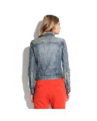 Madewell - Blue Goldrush Jean Jacket - Lyst
