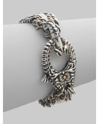 Stephen Webster   Metallic Pearl & Sterling Silver Lobster Clasp Bracelet   Lyst