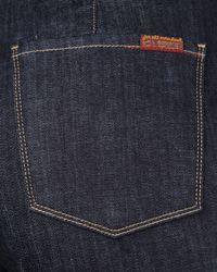 7 For All Mankind - Blue Erin Mercer Flap-pocket Trouser Jeans - Lyst