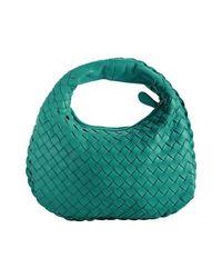 Bottega Veneta | Green Lagoon Intrecciato Leather Mini Bag | Lyst