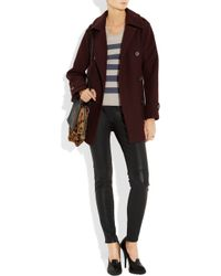 Burberry Brit - Blue Striped Wool and Linen-blend Sweater - Lyst