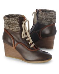 Chloé Brown Cantus Leather Boot