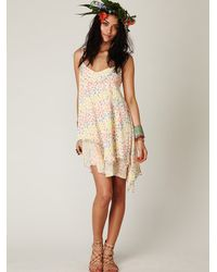 Free People | Multicolor Fp One Embellished Dress | Lyst