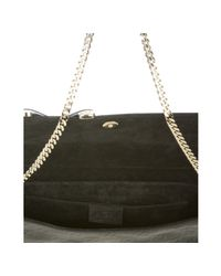 Gucci - Black Ssima Patent Leather Convertible Clutch - Lyst