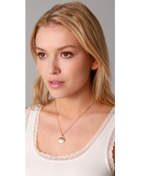 Juicy Couture Metallic Spinner Necklace