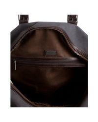 Kenneth Cole - Gray Grey Canvas Duff-minded Duffel Bag for Men - Lyst