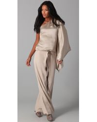 Robert Rodriguez - Pink Pleated Wide Leg Pants - Lyst