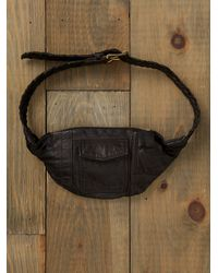 Free People | Black Fanny Pack | Lyst