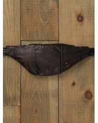 Free People - Black Fanny Pack - Lyst