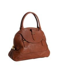 Chloé   Brown Georgia Shoulder Bag   Lyst