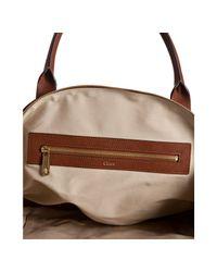 Chloé | Brown Georgia Shoulder Bag | Lyst