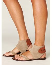 Free People | Natural Havana Sandal | Lyst