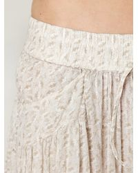 Free People | Multicolor Tiered Maxi Skirt | Lyst